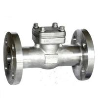Wholesale BS 1868 Forged Steel Swing Check Valve,A182 f316L,Integral flanged ends,1-1/2inch,class 300 from china suppliers