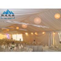 Wholesale All Season Outdoor Party Tents Light Frame Steel Structure With Sandwich Panel Wall from china suppliers