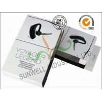 Smart Headset Paper Packaging Box , Foldable Cardboard Boxes Packaging