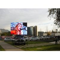 P10 vehicle onboard outdoor advertising led display / Lightweight vehicle mobile led screen / IP65
