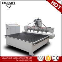 Wholesale Multi Spindles 1325 CNC Router Machine For Solid Wood / Acrylic Engraving from china suppliers