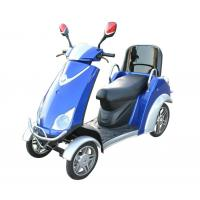 Wholesale Comfortable 4 Wheel Power Scooters Blue Battery Operated Scooter With Four Wheels from china suppliers