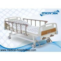 China Handicapped Nursing Manual Hospital Beds Double Function Home Care wholesale
