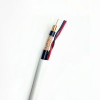 Wholesale Super Turbo RG59 RG59U 2C CCA Bulk CCTV Cable with 0.75/1.0MM2 Siamese Coaxial cable from china suppliers