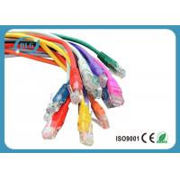 Wholesale Fluke Tested Lan Patch Cord Cable UTP Cat5e Full Copper with Snagless Mold Injection Type from china suppliers