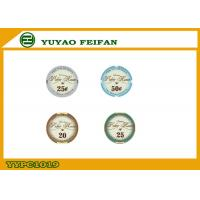 Wholesale Valentino Poker Room Ceramic Poker Chips , Early Casino Poker Chip from china suppliers