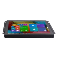 Wholesale Plastic Bezel 250nits DVI Capacitive Touch Panel Monitor 15 Inch from china suppliers