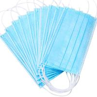Wholesale Nonwoven Anti Dust 3ply Civil Disposable Nose Mask from china suppliers