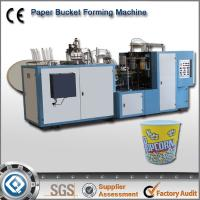Wholesale DTJ-64 Automatic Ultrasonic Paper Popcorn bucket Making Machine from china suppliers