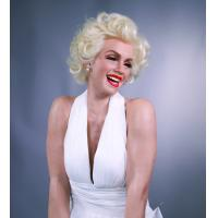 Wholesale life-size sexy lady marilyn monroe classic pose silicone wax figure for sale from china suppliers
