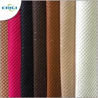 Wholesale Thicker Padded Faux Leather Fabric Multi Layers Anti Mildew Elastic Mesh from china suppliers
