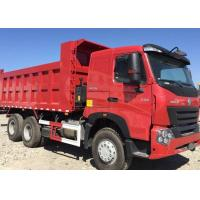 Wholesale Professional 20 - 30 Ton Dump Truck  SINOTRUK HOWO A7 6x4 Dump Truck With 380HP from china suppliers