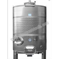 Wholesale hot sale 1500L stainless steel wine fermentation tank with laser welding jacket from china suppliers