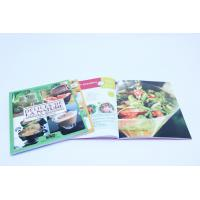 Wholesale A4 Full Color Cookbook Printing With Spot UV , Perfect binding from china suppliers
