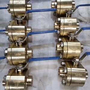 Wholesale ASTM B148 NPT Thread Ball Valve Nickel Aluminum Bronze C95800 DN25 800LB Locking device from china suppliers