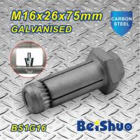 Wholesale M16 Carbon steel Zinc plated Hot dip Galanised Expansion threading Machine Anchor Bolt from china suppliers