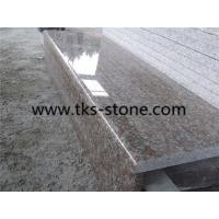 Wholesale G687,Peach red,Blossom red granite stairs&steps,Natural stone stairs&steps from china suppliers