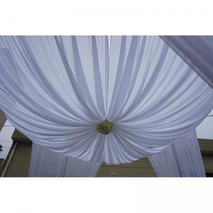adjustable 10ft diameter backdrop curtain wedding decoration ceiling