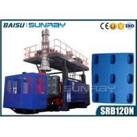 Wholesale High Clamping Force Plastic Pallet Making Machine 120Mm Screw Diameter SRB120N from china suppliers