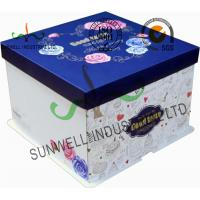 Wholesale Corrugated Cardboard Food Packaging Boxes , Cardboard Takeaway Food Boxes from china suppliers