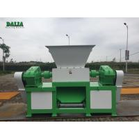 Wholesale Durable Double Shaft Metal Shredder Machine High Capacity Copper Cable Shredder from china suppliers