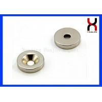 Wholesale Custom Countersunk Rare Earth Magnets , Strong Countersunk Neodymium Magnets from china suppliers