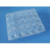 Wholesale plastic quail egg tray,24 holes clear plastic quail egg tray,PVC/PET quail egg tray from china suppliers