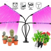 Wholesale DC5V 4 Head 650nm LED Plant Grow Light from china suppliers