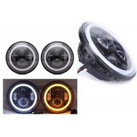 """Wholesale 70W 7"""" Angel Eye Jeep LED Headlights High / Low H4 Or H13 Jeep Jk Halo Headlights from china suppliers"""