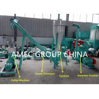 Buy cheap 2 - 12mm Pellet Size Animal Feed Manufacturing Plant / Chicken Feed Making from wholesalers