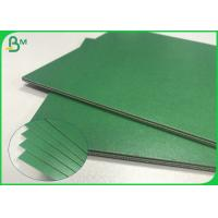 Buy cheap 1.2mm 1.5mm 1.8mm Solid Smooth Thick Green Paper Cardboard For Book Binding from wholesalers