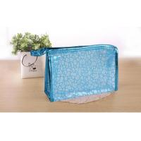 Wholesale PVC Transparent Cosmetic Wash Bag Waterproof Geometric Dumpling Shape from china suppliers