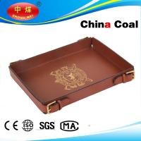 Wholesale Leather Tray Apply To Tea And Other Service Tray from china suppliers