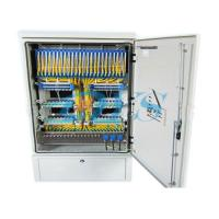 China Two Layers Fiber Optic Terminal Box , Stainless Steel Distribution Cabinet wholesale