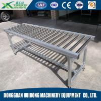 Wholesale Stainless Steel Gravity Conveyor , Chain Driven Roller Conveyor High Efficiency from china suppliers