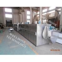 China Durable Continuous Belt Dryer , Explosion Resistance Conveyor Dryer Machine on sale