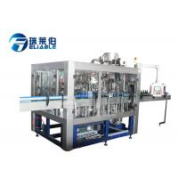 Wholesale Automatic Glass Beer Bottling Line With Crown Cap / Aluminum Cap , Low Noise from china suppliers