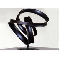 Wholesale Indoor Ribbon Bronze Lawn Statues , Abstract Bronze Sculptures WS-C038 from china suppliers