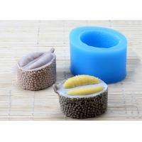 Wholesale Customized Handmade Durian Shaped Silicone Soap Molds 5.6*4.0*6.8cm from china suppliers