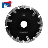 Wholesale 230mm Diamond Turbo Blade , Segmented Circular Disc for Cutting Masonry from china suppliers