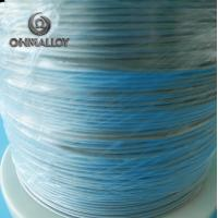 China CE Approved FeCrAl Alloy NiCr2080 Heating Flat Wire For Sealing Machine wholesale