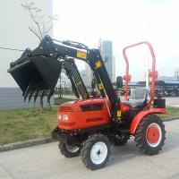 Garden tractor front end loader quality garden tractor front end loader for sale for Small garden tractors with front end loaders