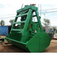 Wholesale Deck Crane 25T Remote Control Grab Bucket for Bulk Cargo Ship 6cbm - 12 CBM from china suppliers
