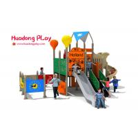 Wholesale Commercial Garden Play Equipment , Preschool Outdoor Play Equipment With Musical Panels from china suppliers