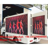 good Digital Billboard P5/P6 LED Truck YUEJIN 4*2 LHD gasoline