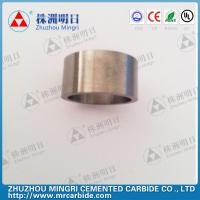 Quality Grade YG22C Tungsten Carbide Roller Rings good wear resistance and bending strength for sale