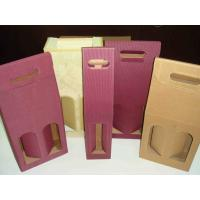 Wholesale Wine boxes cardboard wine boxes personalized wine box wholesale from china suppliers