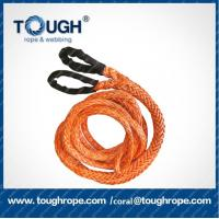 Wholesale Dyneema 10mmx30M 21700LBS synthetic winch rope tow rope 4x4 off-road pulling rope with hook thimble nose end lock from china suppliers