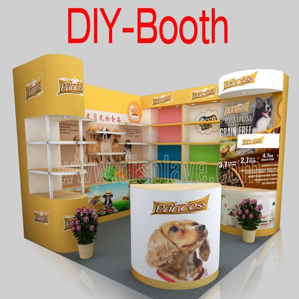 Portable Modular Exhibition Stands : Portable modular exhibition stands m of item