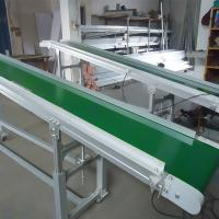 Wholesale Flat Grain Belt Assembly Line Roller Conveyors Low Profile Belt Conveyor from china suppliers